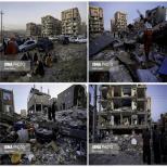 زلزله در سر پل ذهاب -كرمانشاه