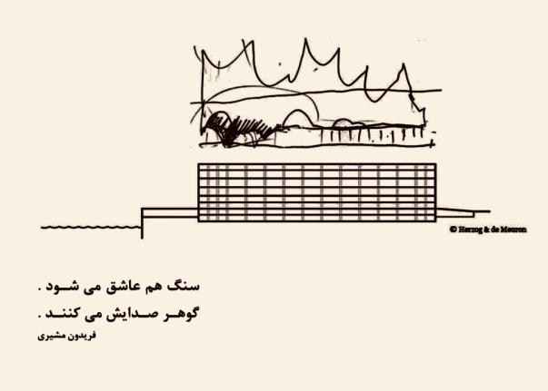 نوشتههای پيوسته يك معمار