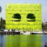 مكعب سبز يورو نيوز در ليون