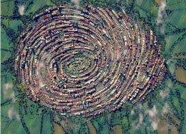 نفوذ طبيعت به درون شهر ها